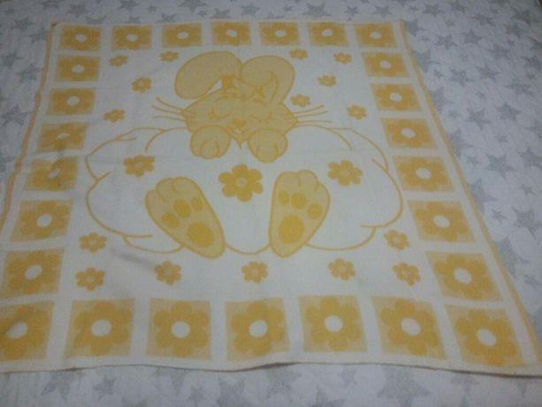 Одеяло детское, плед детский