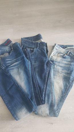 3 pary spodni jeansy za 20 zl