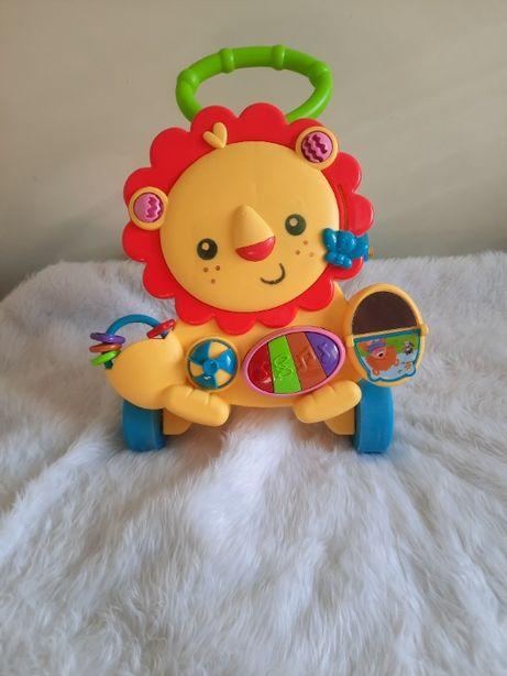 Дитяча каталка-ходунки з музичними ефектами +подарунок