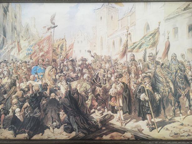 Obraz Juliusz Kossak Wjazd Jana III do Wiednia