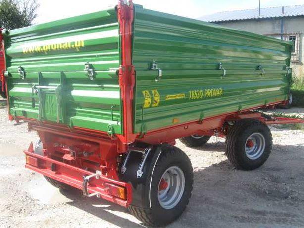 OD RĘKI Pronar T653/2 6 ton przyczepa Kredyt Transport Nie Metal Fach