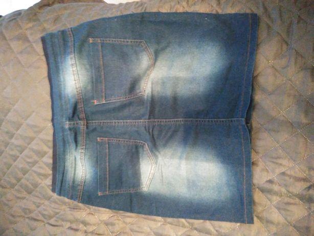 Jeansowa spódniczka