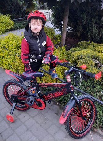 Крутий спортивний велосипед детский + подарок фонарик