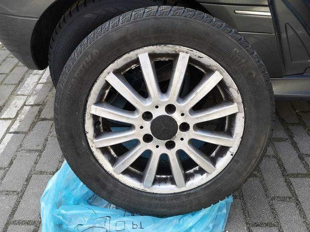 Komplet felg z oponami do Mercedesa - 16 cali