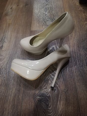 Туфли, кожанные лакованные