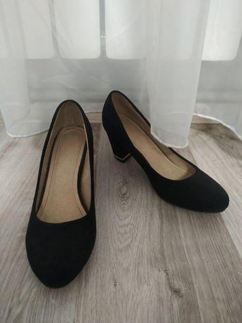 Туфли черные школьные женская обувь
