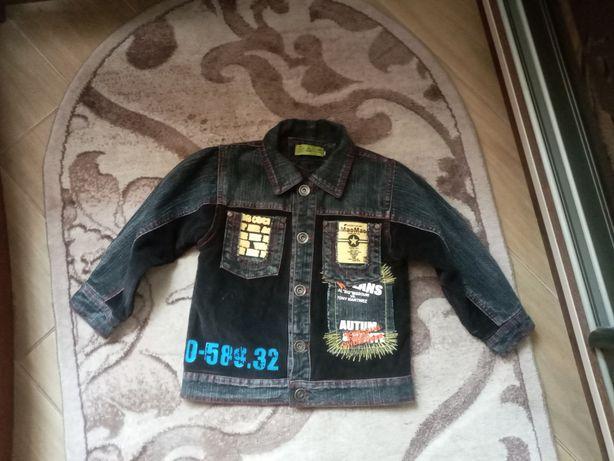 Куртка и джинсы на флисе 2-3 года
