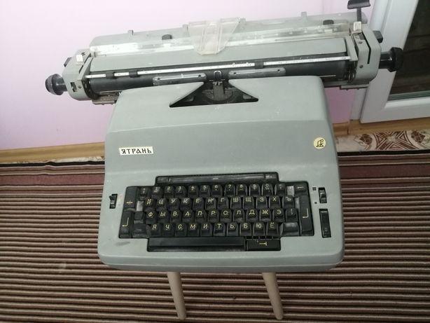 Электрическая печатная машинка ятрань пек 435 05