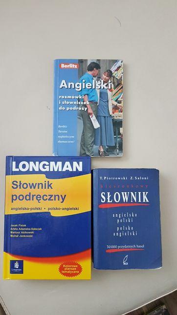 Angieslki - Zestaw słowników i rozmówki
