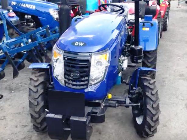Мінітрактор DW 244 AHT 24 к.с. ГУР. Трактор з доставкою. Гарантія