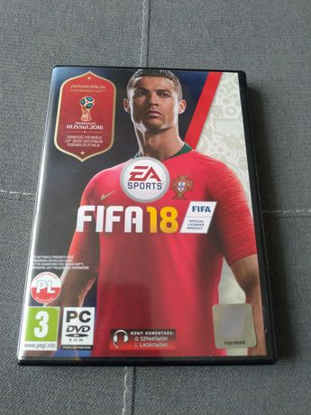 FIFA 18 pudełko  + płyty dla kolekcjonera.