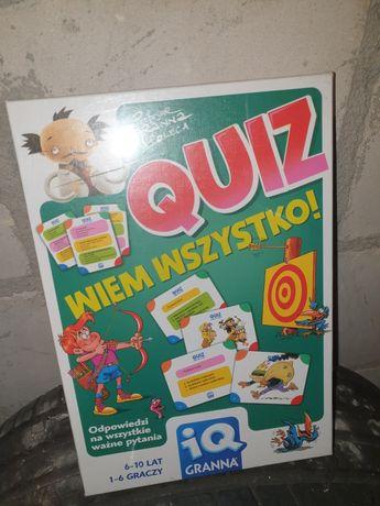 Gra planszowa Quiz