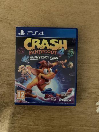 Crash Bandicoot 4 Najwyższy Czas PS4 PL
