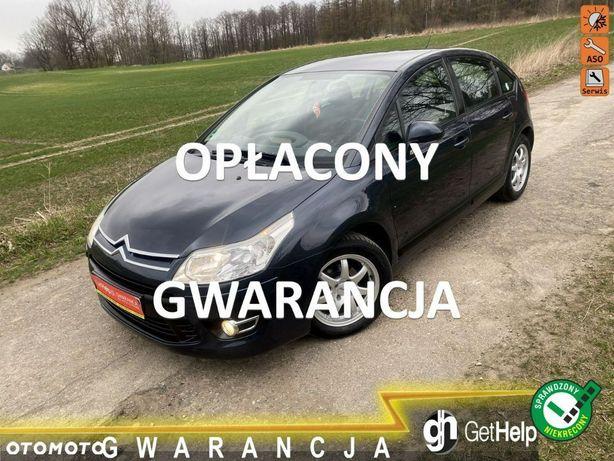 Citroën C4 Idealny z Niemiec 1.6 benzyna Opłacony z Gwarancją Serwisowany !