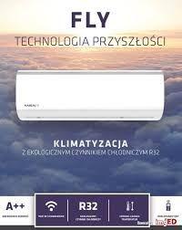 Montaż klimatyzacji/klimatyzator Kaisai Fly 3,5kW WiFi z pompą ciepła