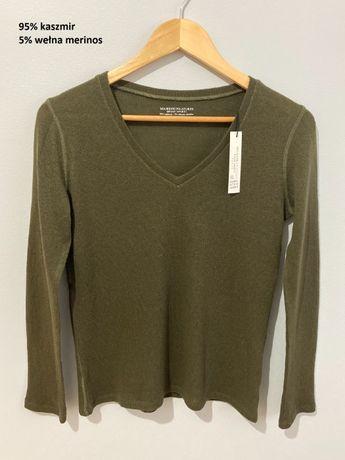 Sweter 95% kaszmir, nowy