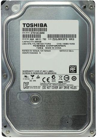 Жесткий диск HDD 500GB 7200rpm 32MB SATA III 3.5 Toshiba
