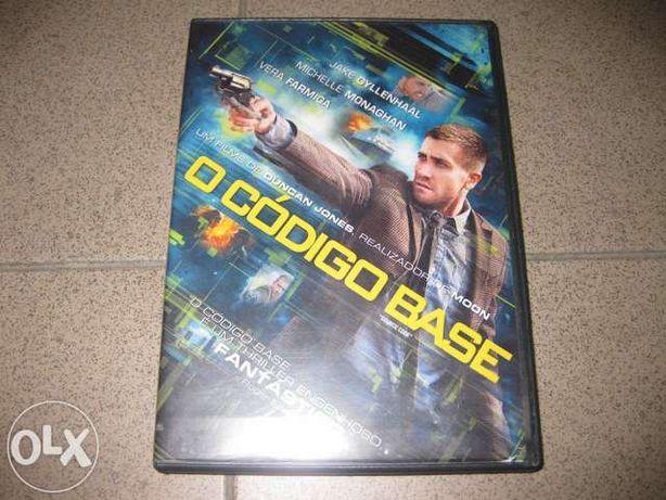 "DVD ""O Código Base"" com Jake Gyllenhaal"