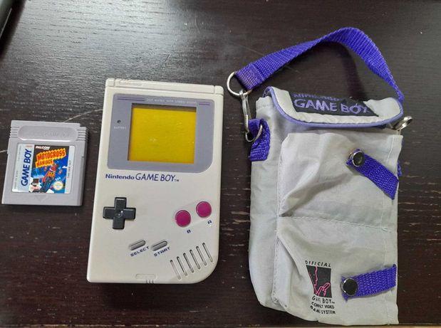 Game Boy Classic DMG + bolsa oficial e jogo