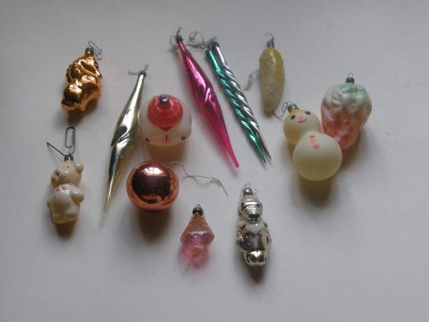 Комплект на небольшую елку Елочные игрушки СССР