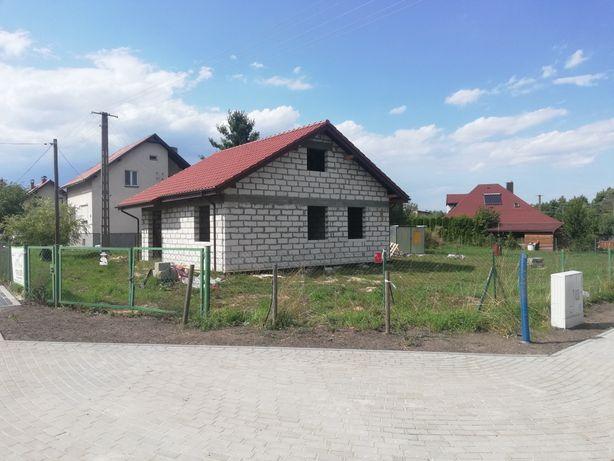 Dom Zosia w stanie surowym otwartym w Dąbrowie Chełmińskiej
