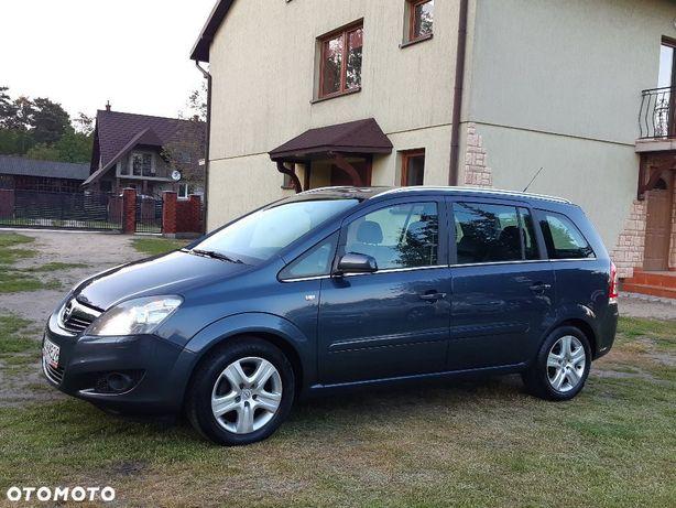 Opel Zafira 1.8 140km. Cosmoxenonpół Skóryzadbanyzarejestrowany