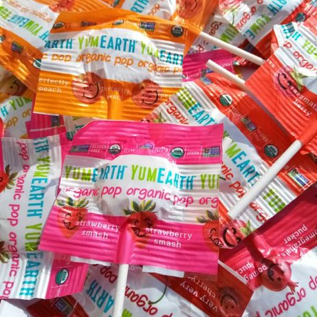 YumEarth Organic Pops, gummy bears