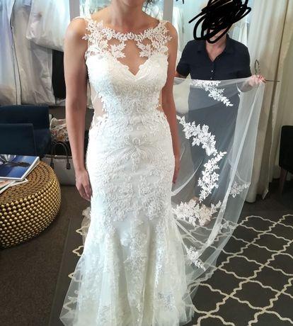 Sprzedam suknia ślubna boho, syrenka