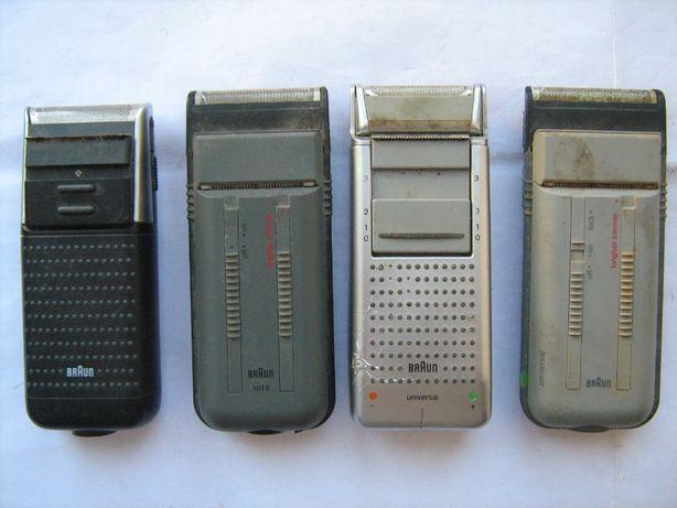 Электробритвы Braun модели 5586 аккумуляторная, 1013 и остальные