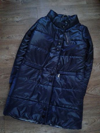 Теплая женская куртка-пуховик пальто. Распродажа
