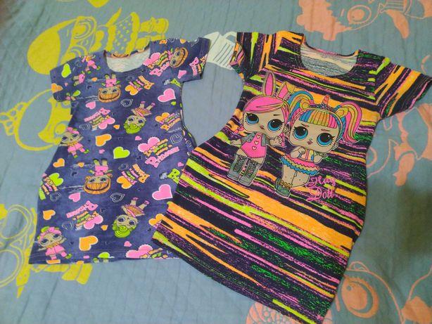 Платье туника 104-116 см