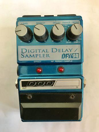 '98 DOD DFX94 digital delay/sampler