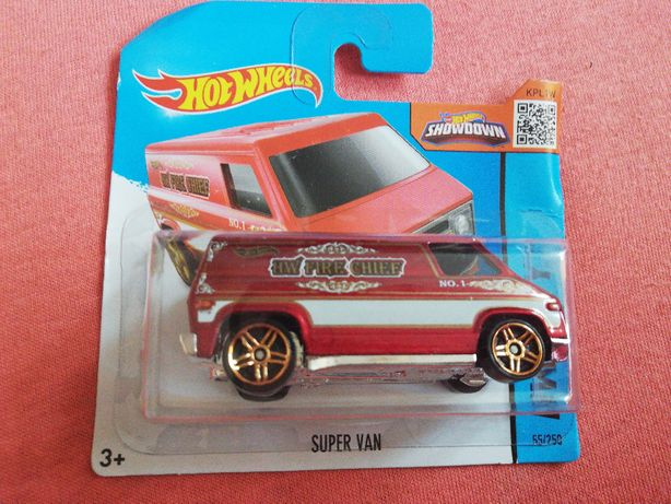 Mattel autko Hot Wheels HW City Super Van 55/250