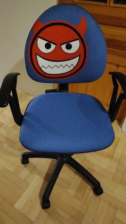 Krzesło obrotowe do biurka dla dziecka