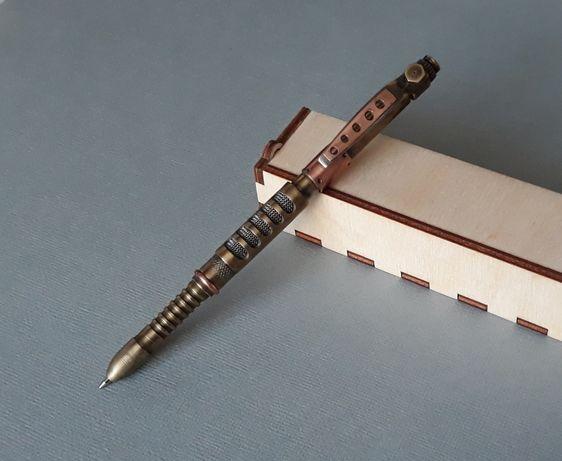 Шариковая ручка в стиле Loft, СТИМПАНК, ручная работа, steampunk pan
