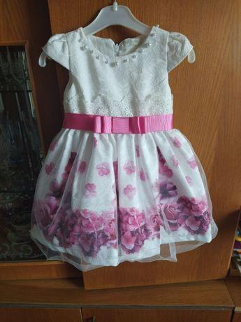 Плаття для дівчинки на 1 рік