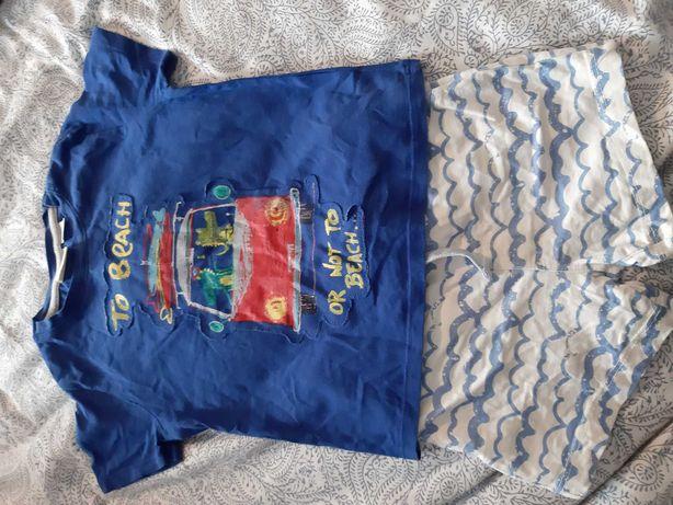 Komplet koszulka spodenki zara 86 92 lato