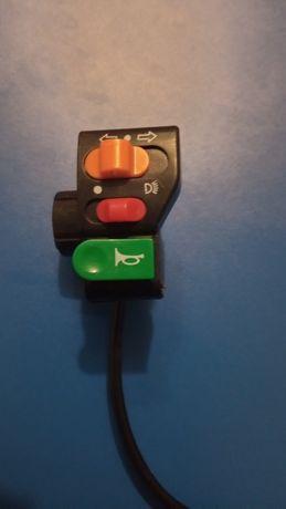 Блок кнопок переключатель сигнал поворотники кнопки электроскутер