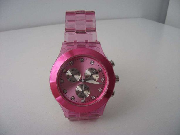 Relógio para Senhora muito bonito em rosa