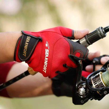 Перчатки неопреновые для спортивной рыбалки спининга