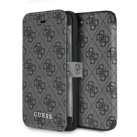 Etui Book Guess do iPhone 7 / iPhone 8 grey/szary