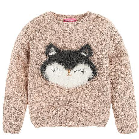 Cool club coolclub sweter kotek r 134 128