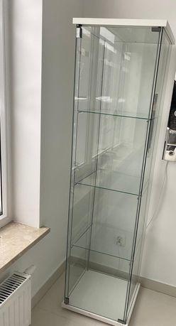 Szklana Witryna Gablota Regał IKEA