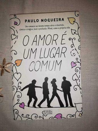 Vendo livro ( o amor é um lugar comum)
