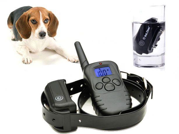 Coleira Treino Anti-Latido para Cães- (Baterias 100% Prova Água) NOVO