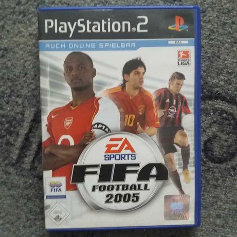 Gra playstation FIFA 2005