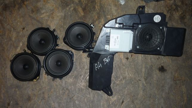 Komplet głośników Audi a4b b6 subwoofer