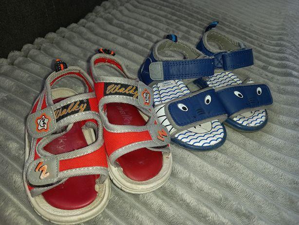 Buciki na lato, sandały, roz. 20,5 i 21