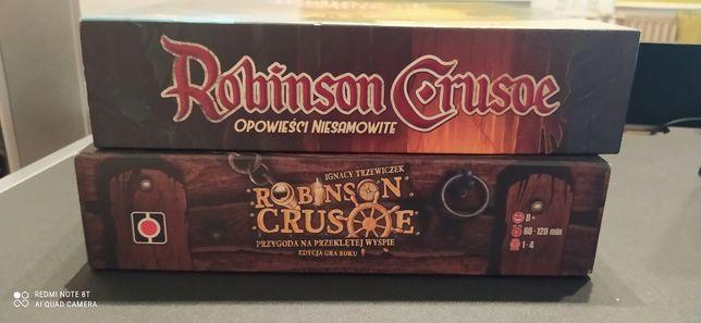 Gra planszowa Robinson Crusoe wraz z dodatkiem plus gratis