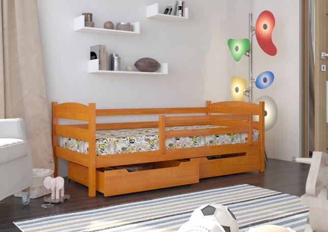 Drewniane łóżeczko dla dziecka polskiej firmy Julia Premium